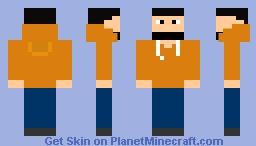 Unturned orange Minecraft Skin