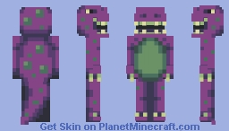 Evil Barney (PBL S7 W2) Minecraft Skin