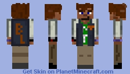 Teen (ish) MTsteel Minecraft Skin