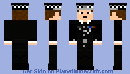 Metropolitan Police Commissioner Minecraft Skin