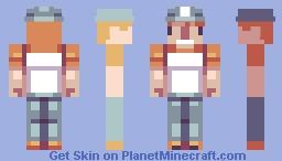 CrashCraft fan skin Minecraft Skin