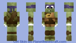 Donatello Minecraft Skin