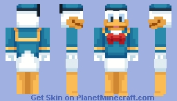 Donald Duck Minecraft Skin