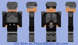 Fallout: Reinforced Combat Armor Minecraft Skin