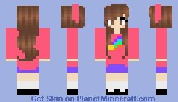 Gravity Falls Mabel Minecraft Skin
