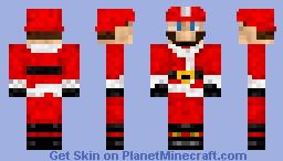 Mario Claus Minecraft Skin