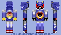 Metal Sonic Minecraft