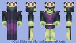 Mojo Jojo [PBL7 skin entry!] Minecraft Skin