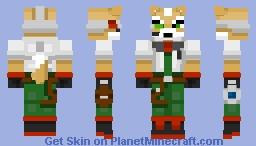 Fox McCloud! - SSB4 (BOPSSC Week 1) Minecraft Skin