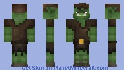 Orc (Test) °~~° [better at 3D] Minecraft Skin