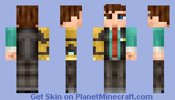 Rhys - Tales from the Borderlands Minecraft Skin