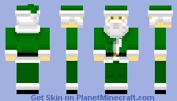 Green Santa (Holiday)