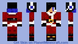 Santa Blueboy for christmas Minecraft Skin