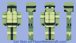 Teenage Mutant Ninja Turtle - PBLS7 W2 Minecraft Skin