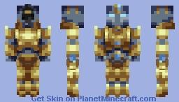 Zealot (StarCraft II) Minecraft Skin