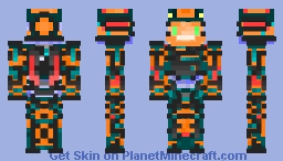 Anti-Virus Knight Minecraft Skin