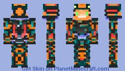 Anti-Virus Knight Minecraft Skin