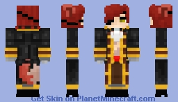 ~¤{Five Nights At Freddy's}¤~  Human Foxy (Designed by Pole Bear) Minecraft Skin