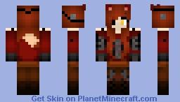 Girl Foxy Minecraft Skin