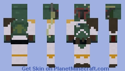 Boba Fett, Star Wars, The original trilogy Minecraft Skin