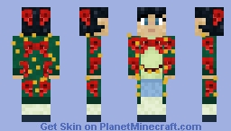 Ugly Bow Sweater Minecraft Skin