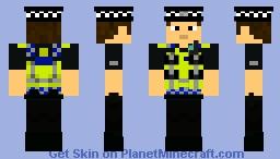 British Transport Police Officer Minecraft Skin