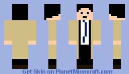 Castiel [Supernatural] Minecraft Skin
