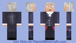 12th Doctor (Doctor Who) Minecraft Skin