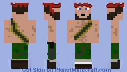 Rambo Minecraft Skin
