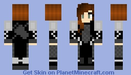 Katniss Everdeen *catching fire* Minecraft Skin