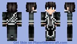 Kirito (Kirigaya Kazuto) - Sword Art Online Minecraft Skin