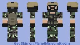 U.S Marine Woodland Minecraft