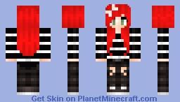 Female Michael Clifford Minecraft