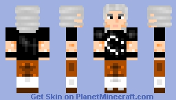 All About That Bass/ Bringin Sexy Bach/ Diggin them Pantaloons/ Old man wearing radical tshirt Minecraft Skin