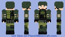 Battlefield 4 Russian Infantry Minecraft Skin
