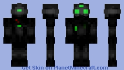 Sam Fisher - Splinter Cell Minecraft Skin