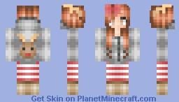 We Love Reindeers Minecraft Skin