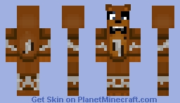 Withered Freddy   Five Nights at Freddy's 2 Minecraft Skin