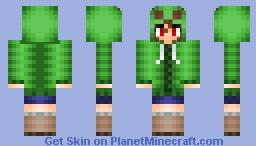 Minecraft Anime Mob Series Creeper Minecraft Skin - Mob skins fur minecraft
