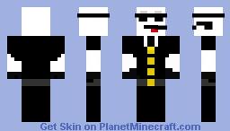 Slender Spy Minecraft Skin