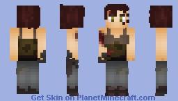 Tomb Raider Minecraft Skin