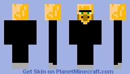 8-Bit Villager Minecraft Skin