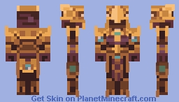 League of Legends - Azir, the Emperor of the Sands Minecraft Skin