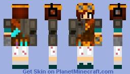 Robotic Aviator Minecraft Skin