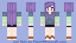 Something Cool, Trying to improve my style Minecraft Skin