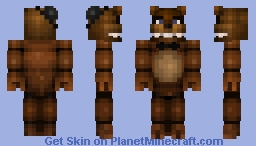 Freddy Fazbear (Five Nights At Freddy's) Minecraft