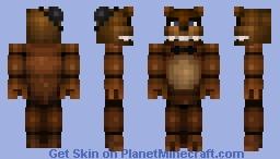 Freddy Fazbear (Five Nights At Freddy's) Minecraft Skin