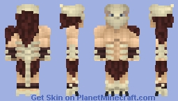 Genshi, the Lone Shaman Minecraft Skin