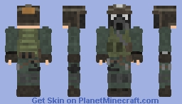 Metro Survivor Minecraft Skin