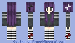 Request: Criminal girl/ New shading? .-. Minecraft Skin